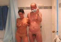 Filming my hairy cock and bald pussy of my wife