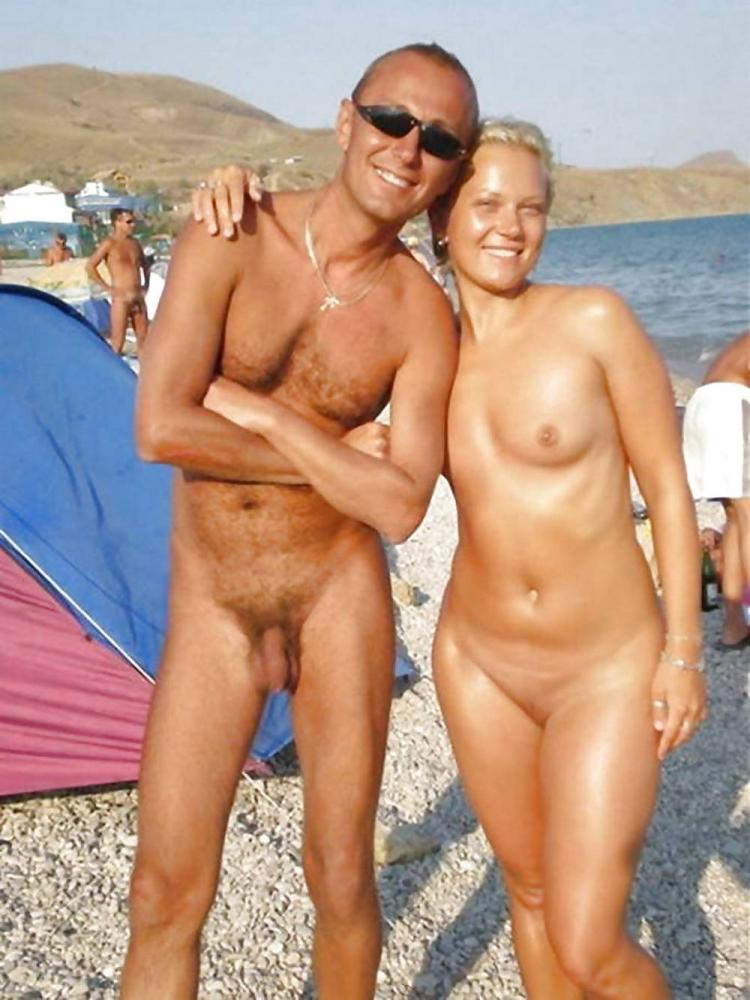 And nude beach shaved couples