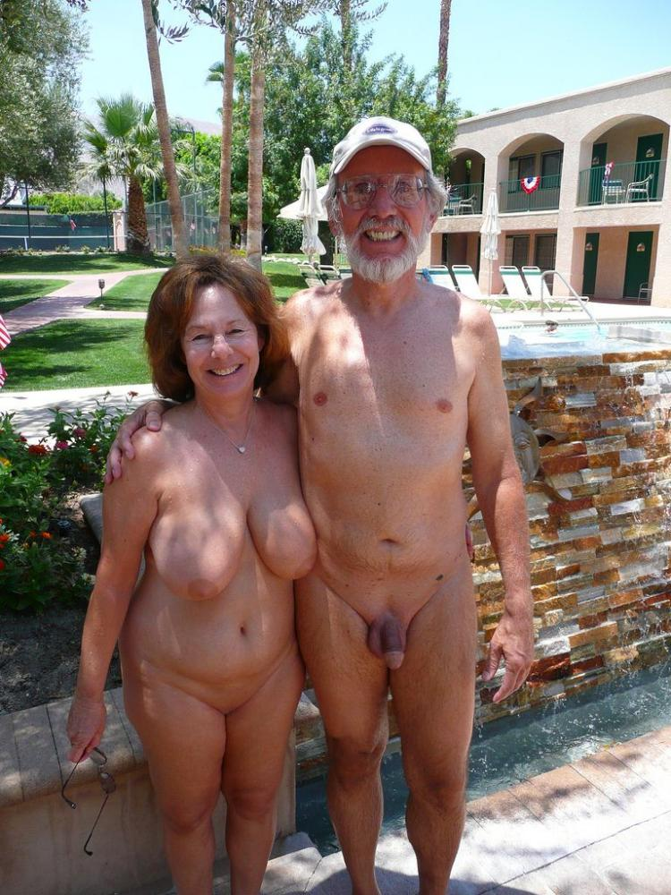 Grandmas busty boobs