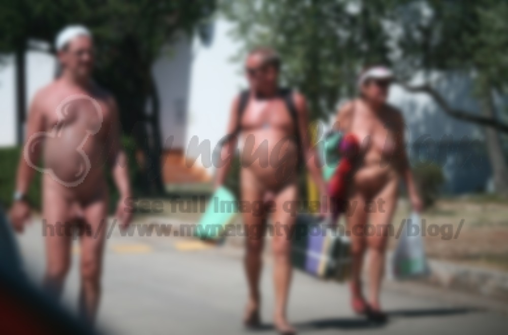 Consider, that young nudist girls walking