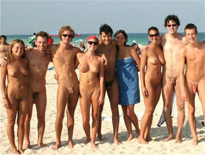 Nudists With Shaved Cocks