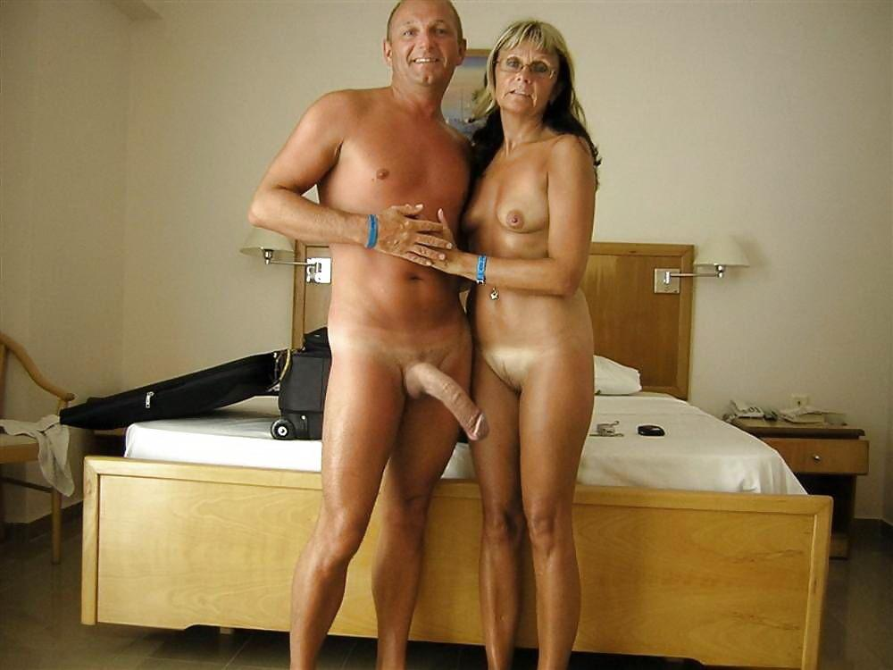 Huge Cock Of My Husband Is Big Enough For Loose Shaved Cunt And
