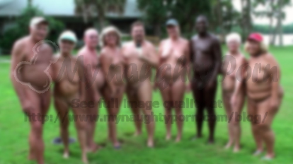 Group of hairy naked women