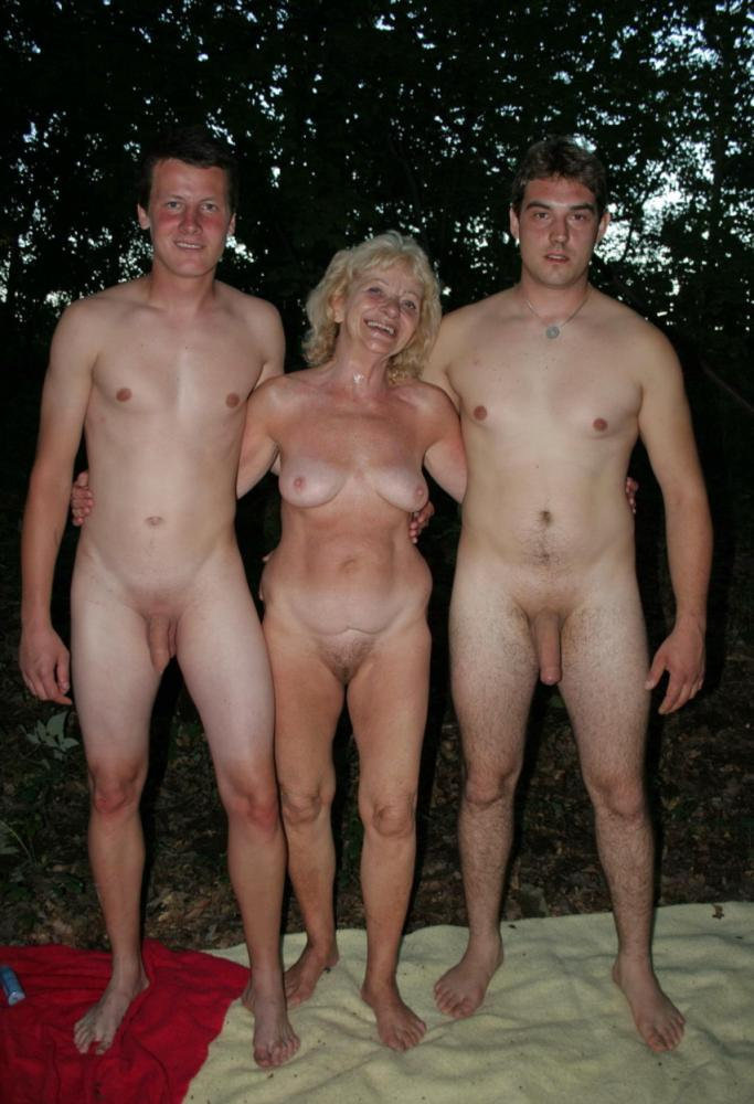 Mom And Boy Nude