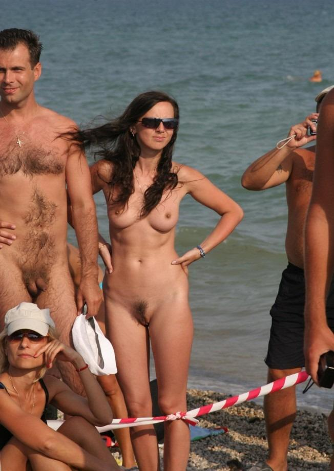 Idea and Naked beach volleyball girls