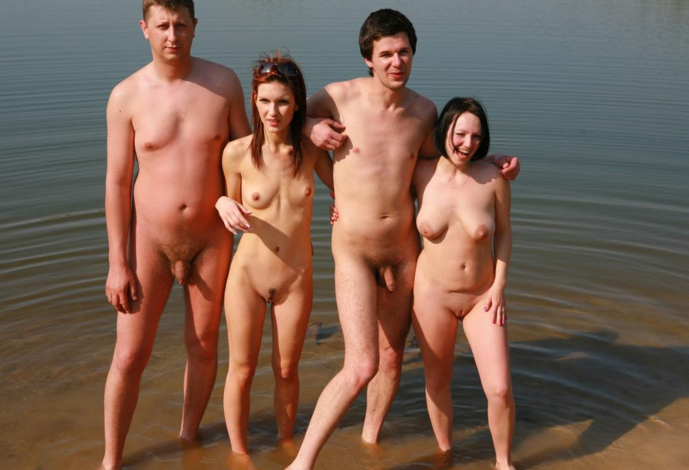 together Naked couples
