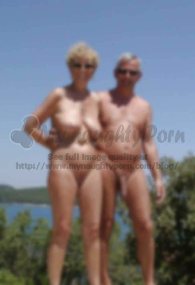 Nude couples with dicks out