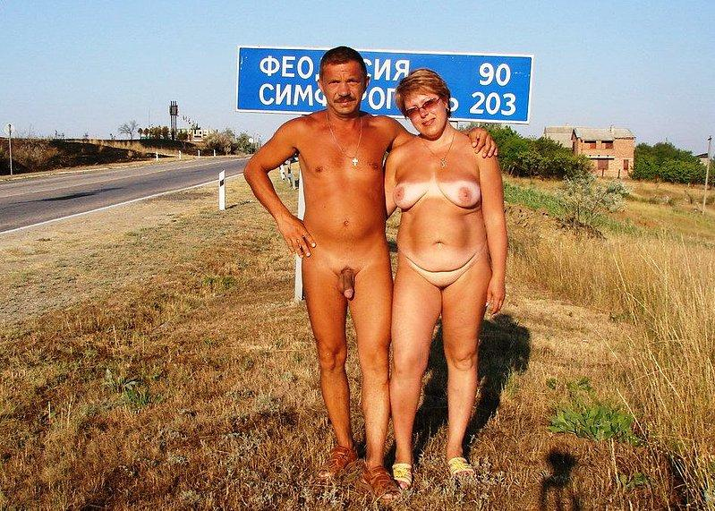 Husband and wife nude beach curious topic