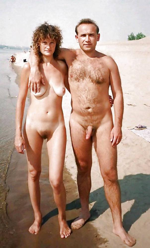 touching dick on naked beach