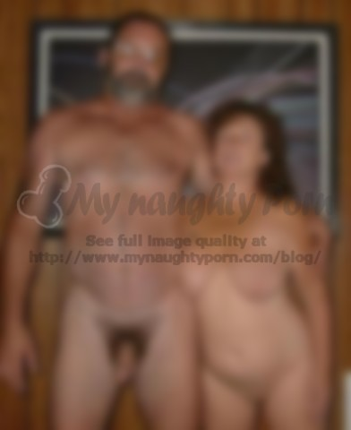 Nude husband topless wife family