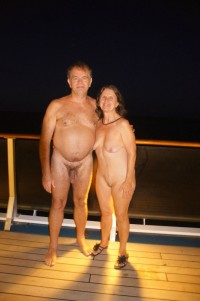 Older couple showing dad's long hairy dick and mom's flabby tits and trimmed twat