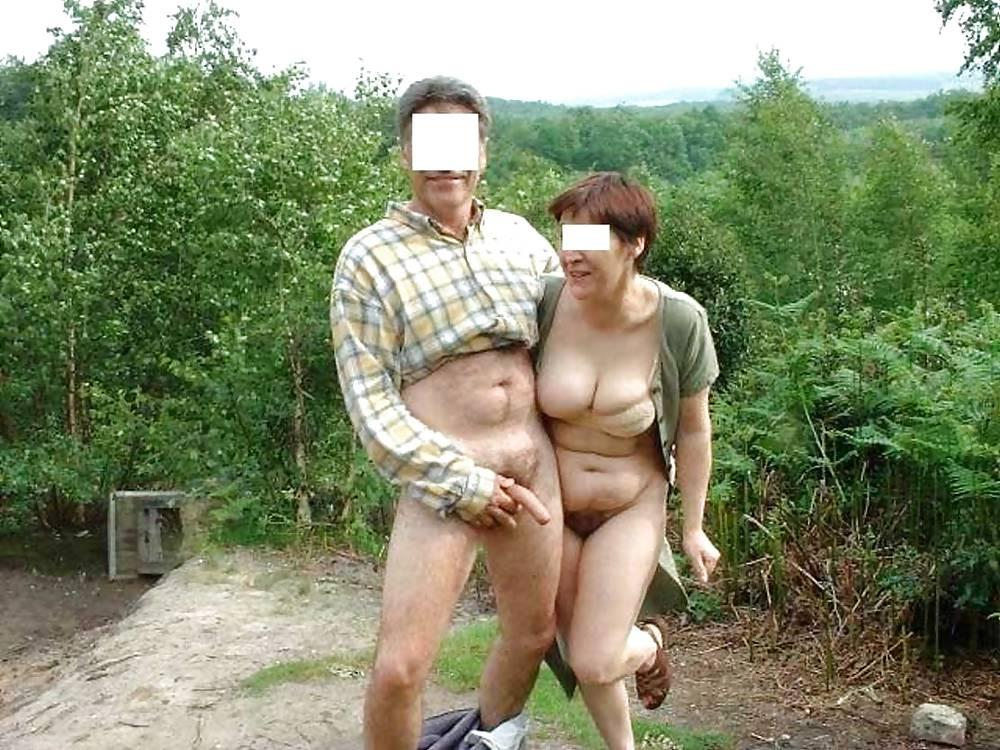 Hairy nudist couples