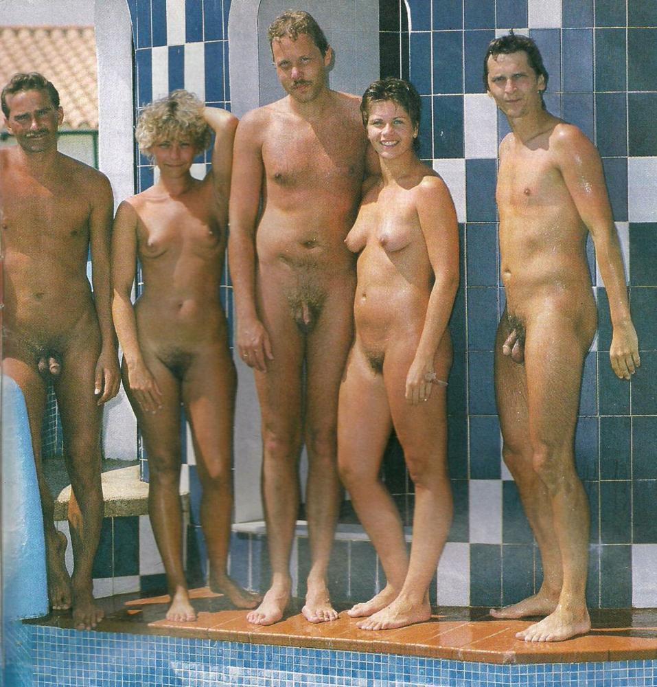 Gallery family hairy nudist