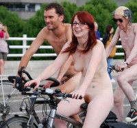 Girl on bike nude with dick in pussy that was