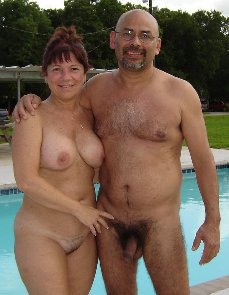 Older couples nudist