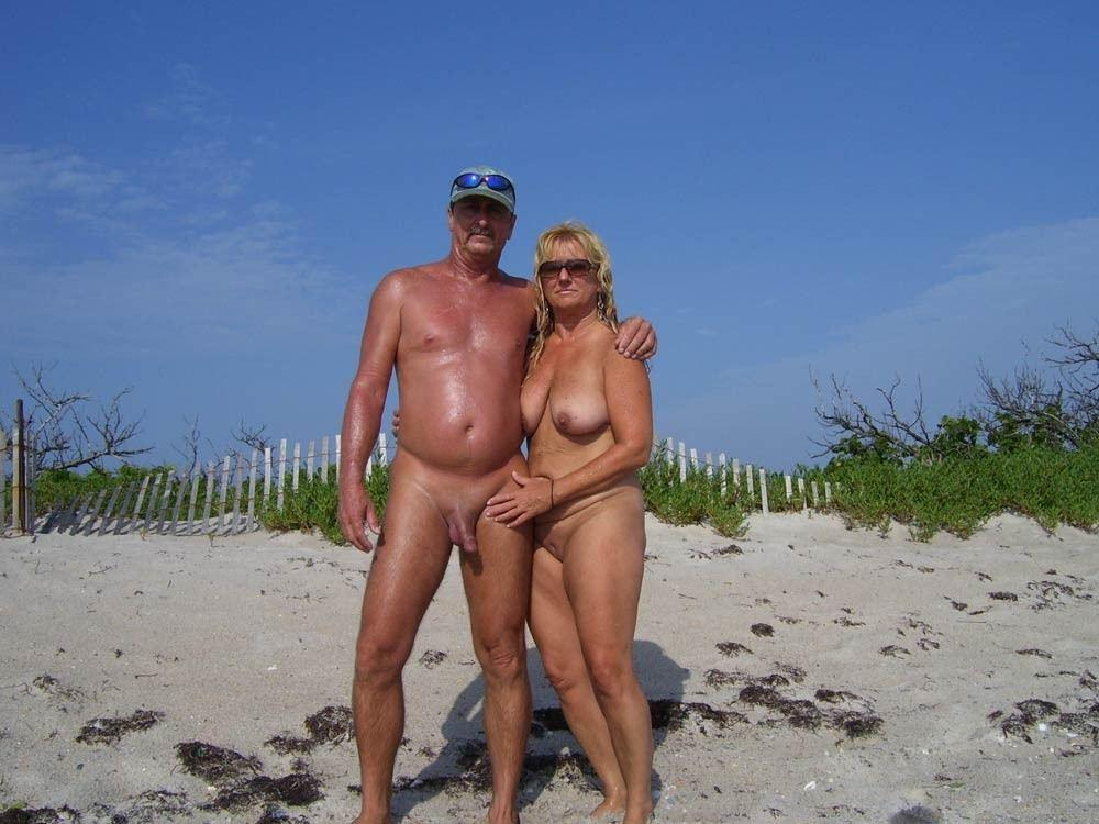 Wife beach semi nude think, that