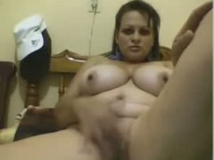 Amateur young cream pie and facial