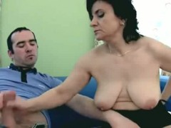 Busty Babe Titty Fuck