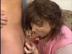 Hot skinny mom with hairy cunt man