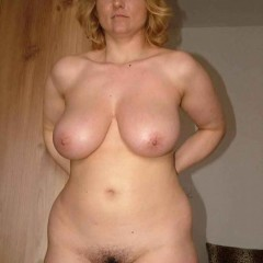 Massive Natural Saggy Tits Milking Cunt