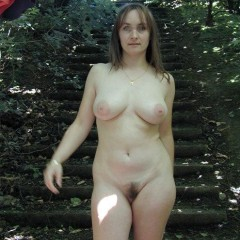 Skinny Girl with Saggy Tits Jerking Young Man